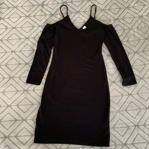 H&M Divided- Black Mini Dress